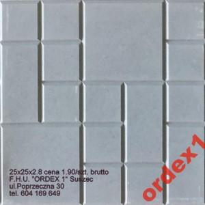 wzór 2  czekoladka 25x25x2.5